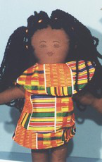 2-SCD#AFCD7-18 inch Dupe African Girl Doll