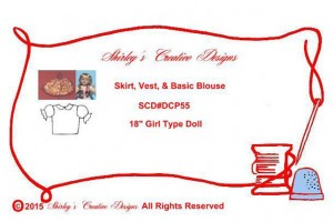 55-Skirt, Vest, & Basic Blouse ENVELOPE WITH CORRECT COPYRIGHT - Copy