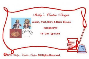 57 Jacket, Vest, Skirt, & Basic Blouse ENVELOPE WITH CORRECT COPYRIGHT - Copy