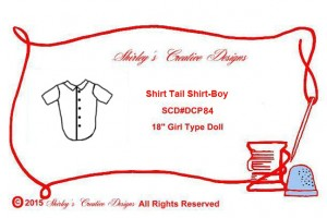 84 Shirt Tail Shirt-Boy envelope with correct copyright - Copy