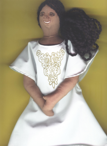 Adeobi-african bride doll-smaller