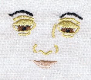 Our Lady Machine Embroidery